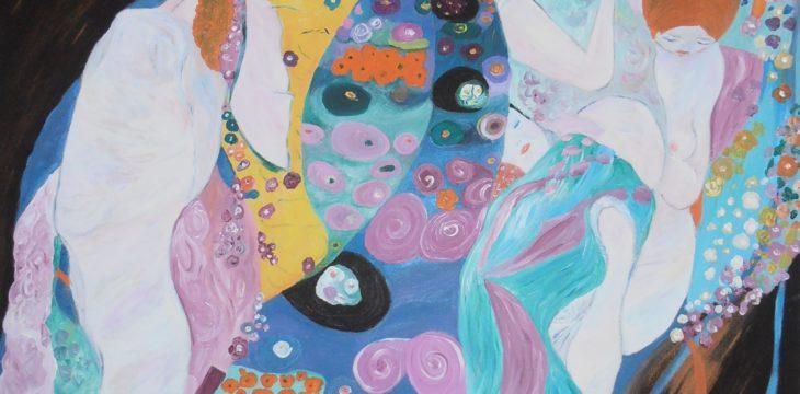 d'après des tableaux de Gustave Klimt